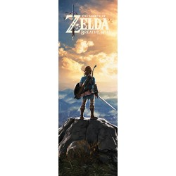 Poster Porte THE LEGEND OF ZELDA -Breath of The Wild- Sunset