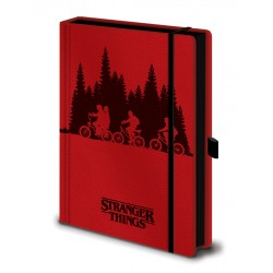 Notebook A5 Premium STRANGER THINGS - Upside Down