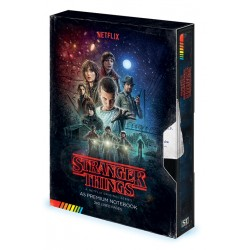Notebook A5 Premium STRANGER THINGS - Saison 1 VHS