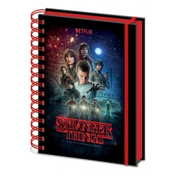 Notebook A5 Spirale STRANGER THINGS - Saison 1