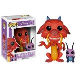 Figurine Pop MULAN - Mushu et cricket