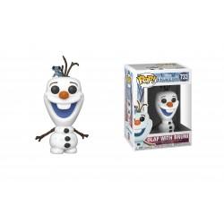 Figurine Pop FROZEN - Olaf with Bruni