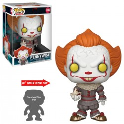 Figurine Pop Ça - Pennywise With Boat 30Cm