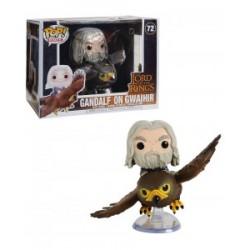 Figurine Pop SEIGNEUR DES ANNEAUX - Rides Gandalf On Gwaihir
