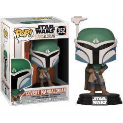 Figurine Pop STAR WARS -  MANDALORIAN - Covert Mandalorian