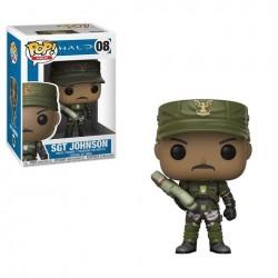 Figurine Pop HALO - Sergent Johnson