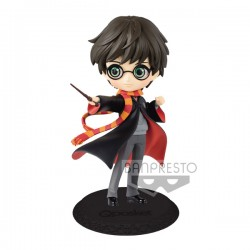 Figurine HARRY POTTER - Q Posket Harry avec sa baguette