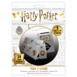 Pack de stickers HARRY POTTER - Artefacts