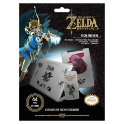 Pack de stickers ZELDA Breath Of The Wild