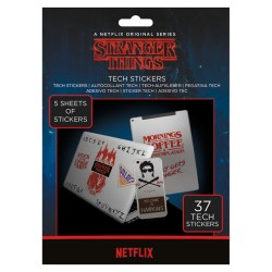 Pack de stickers STRANGER THINGS - The Upside Down