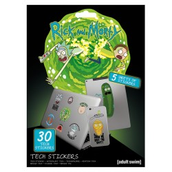 Pack de stickers RICK ET MORTY - Adventures