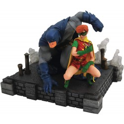 Statuette DC COMICS Gallery Dark Knight Returns Batman Et Robin 20cm