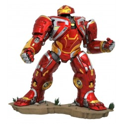 Statuette AVENGERS INFINITY WARS - Gallery diorama Hulkbuster 25 cm