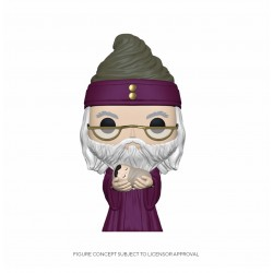 Figurine Pop HARRY POTTER - Dumbledore With Baby Harry