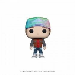 Figurine Pop RETOUR VERS LE FUTUR - Marty McFly In Future Outfit