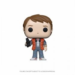 Figurine Pop RETOUR VERS LE FUTUR - Marty McFly In In Puffy Vest