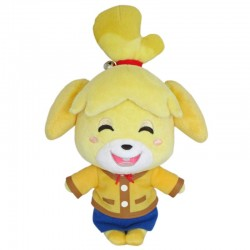 Peluche ANIMAL CROSSING Shizue Isabelle (souriant) 20cm