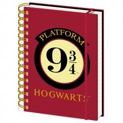 Notebook A5 Spirale HARRY POTTER Platform 9 3/4
