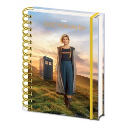 Notebook DOCTOR WHO spirale A5 13th Doctor