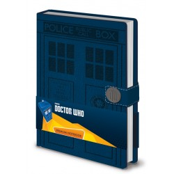 Notebook DOCTOR WHO premium A5 Tardis