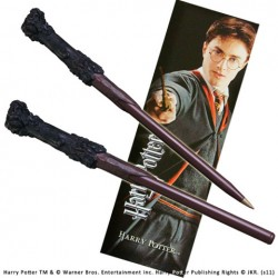 Stylo baguette et marque page HARRY POTTER Harry Potter