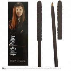 Stylo baguette et marque page HARRY POTTER Ginny Weasley