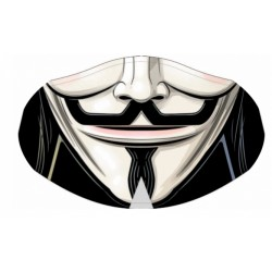 Masque V FOR VENDETTA Lavable