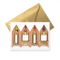 Carte de vœux HARRY POTTER - Bonbon Bertie Crochue