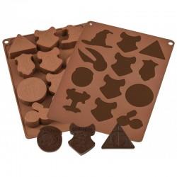 Moule à chocolats et glaçons HARRY POTTER-Logo maison