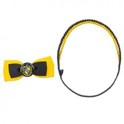 accessoires pour cheveux Poufsouffle - HARY POTTER -barrette nœud-serre-tête